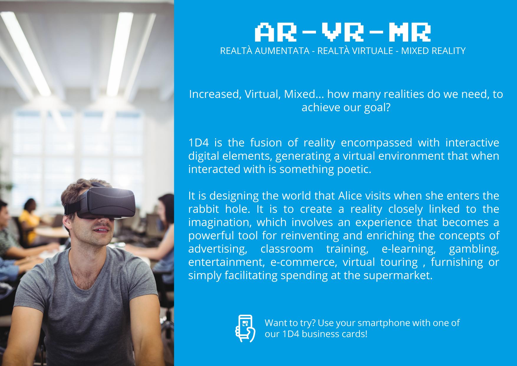 AR - VR - MR